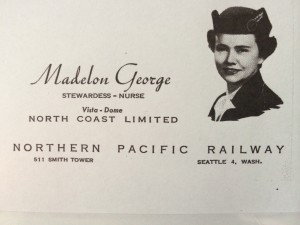 Madelon train card