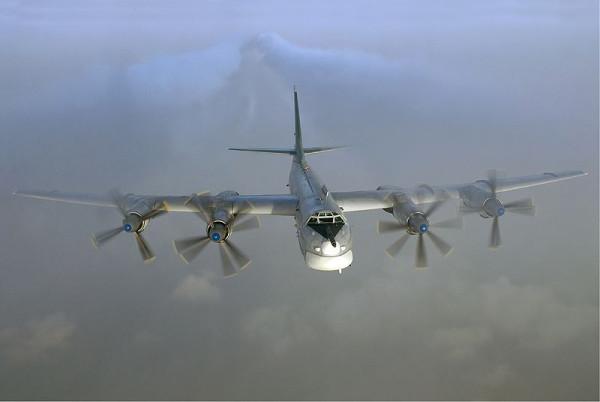 бомбардировщик-ракетоносец Ту-95