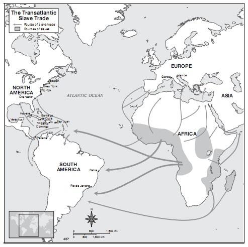 география работорговли