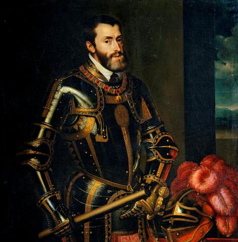 Тициан. Карл V (2)