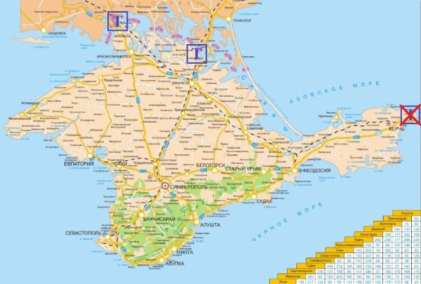 таможенные посты Крыма