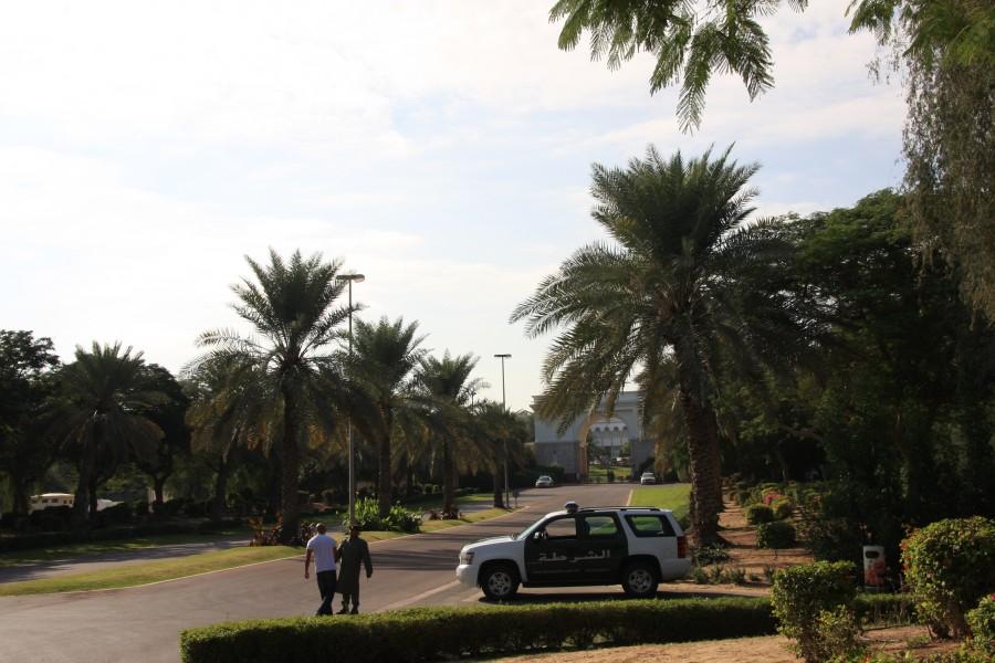 Вход к резиденции Шейха Мохаммеда ибн Рашид аль-Мактума