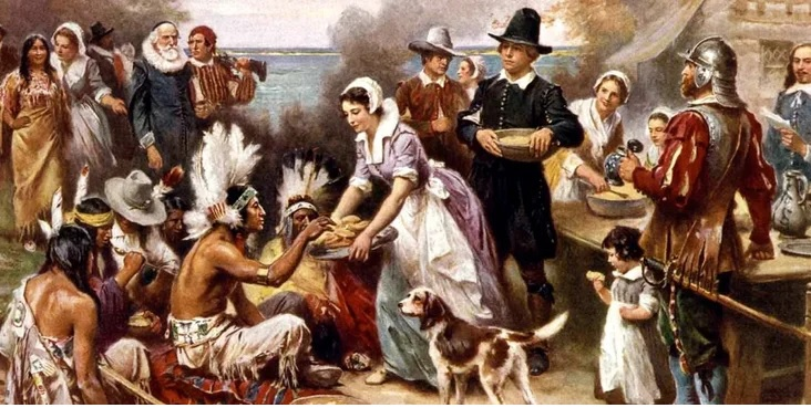 День Благодарения в США.