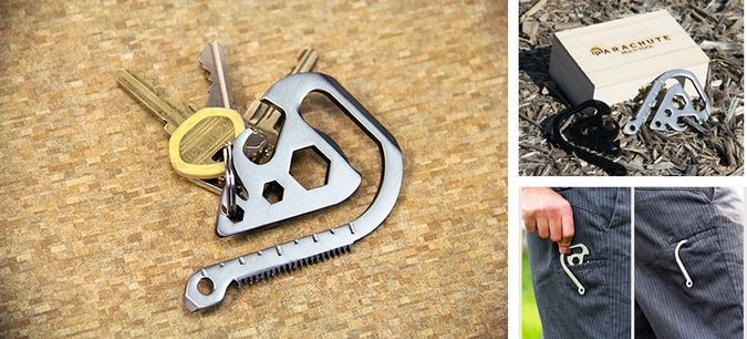 Parachute-Multitool-By-jeff-Morin-Keychain-Gift-box-Pocket-Hook