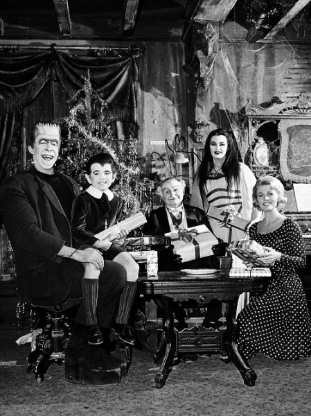 munsters christmas 2