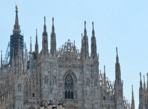 На крыше собора в Милане планируют установить киоск
