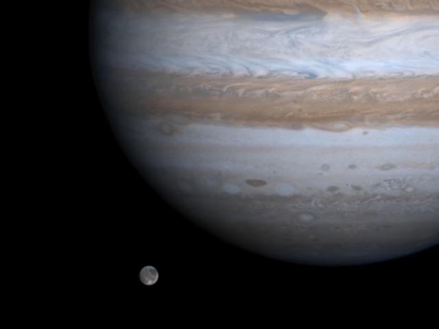 Россия отправит посадочный модуль к спутнику Юпитера