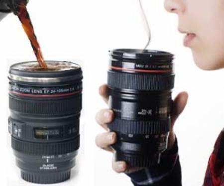 чашка объектив