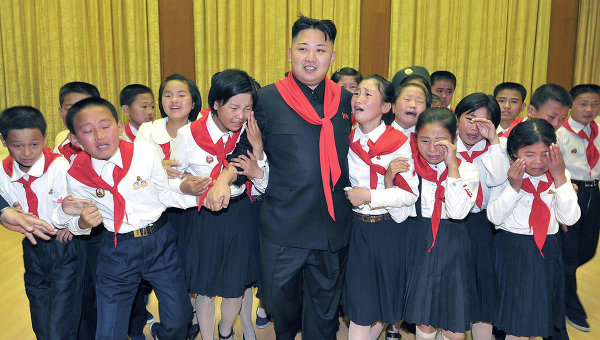 Ким Чен Ына