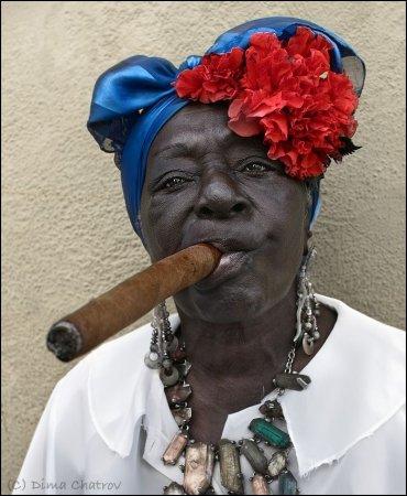 Кубинка-с-сигарой