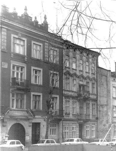 Фасады домов по ул. Жидовской