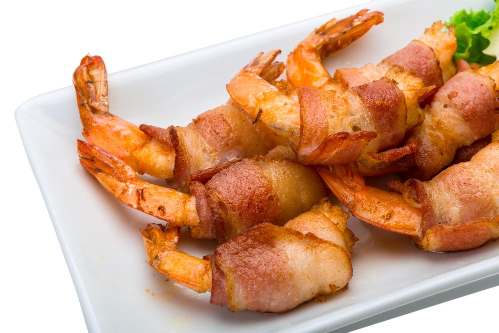 shrimps-bacon