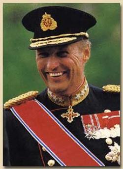 Норвежский король Харальд V