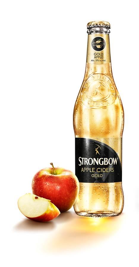 בקבוק סטרונגבאו עם תפוח
