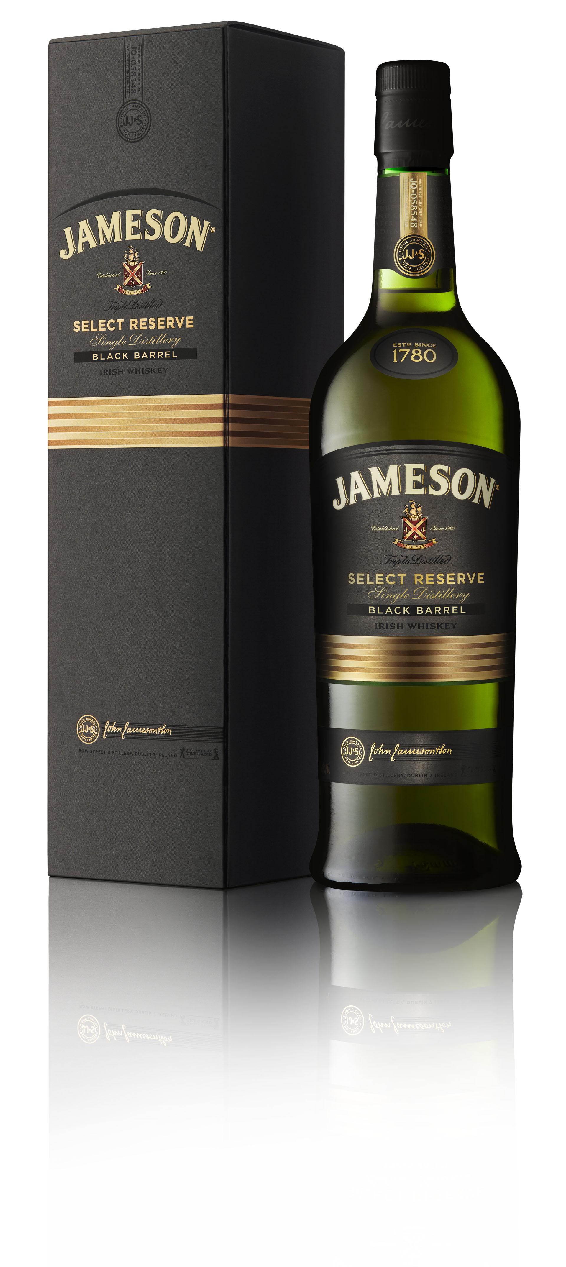 Jameson Black Barrel Carton 2