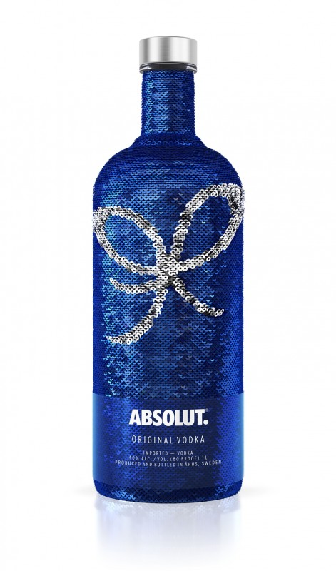 Oct 17 - EOY17 Absolut Uncover Sequin Bow 1000ml White