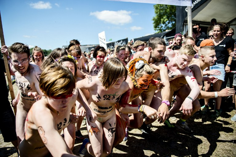 Фестиваль в Роскилле: голые забеги за лишним билетиком. 18+ 1