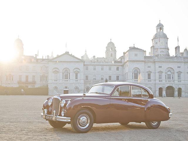 Jaguar MARK VIIM Saloon (1955 года)2