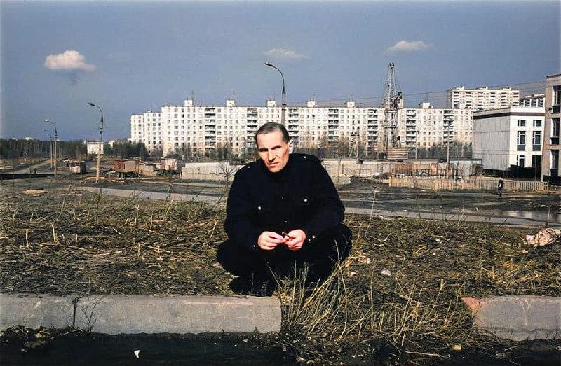 Петр Мамонов. Раньше он жил в Чертаново, по адресу Днепропетровская улица, дом 35. Фотография сделана в 1989 году.