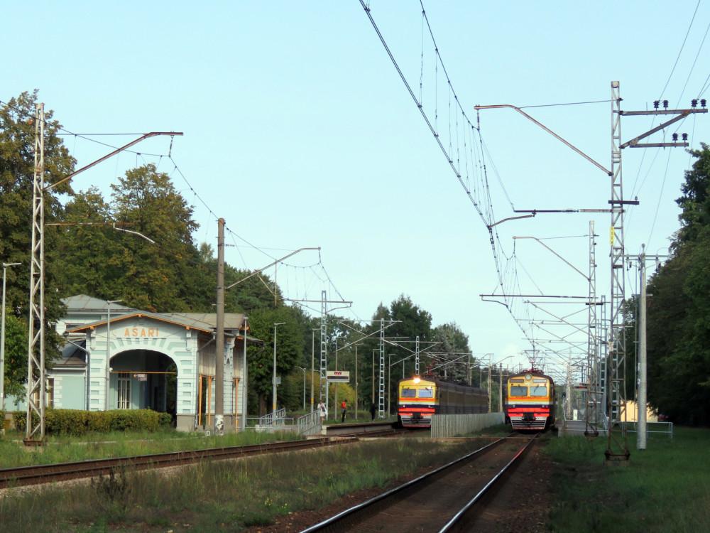Латвия. Разные железнодорожности