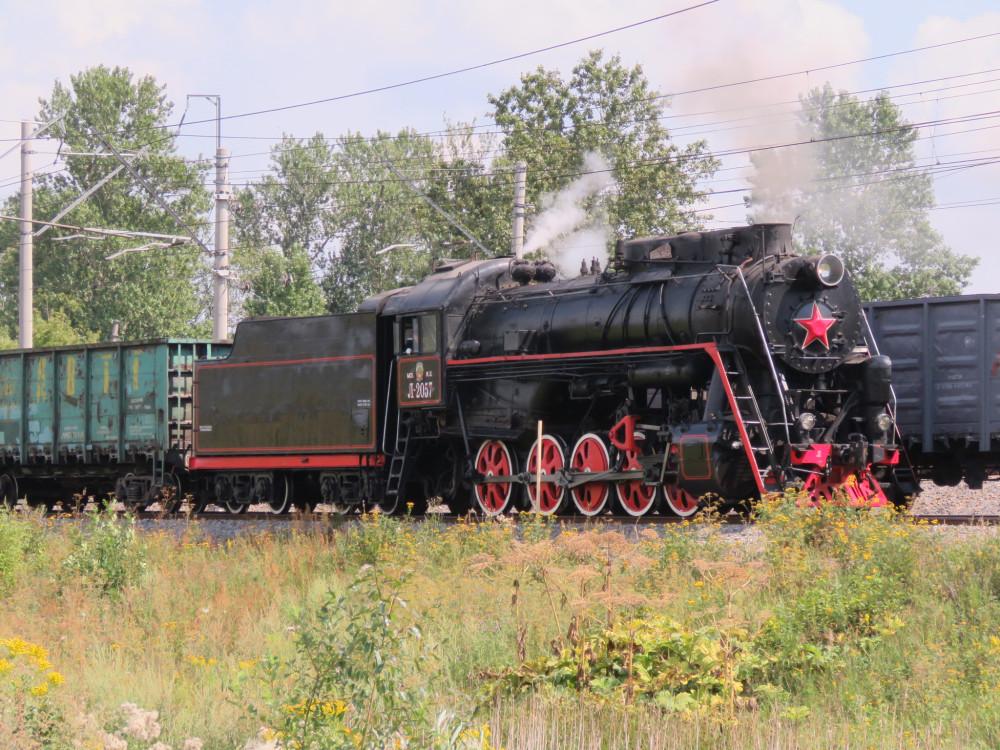 Просто паровозы - это красиво! Конкурс мастеров-паровозников в Щербинке железные дороги