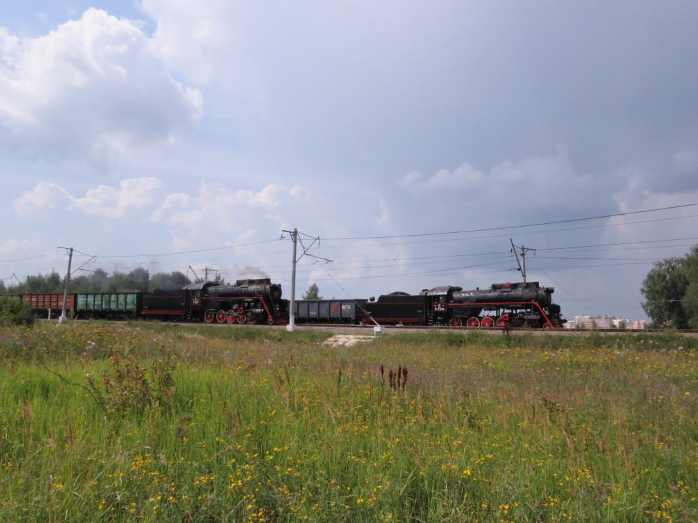 Паровозы - это красиво! Конкурс мастеров-паровозников в Щербинке
