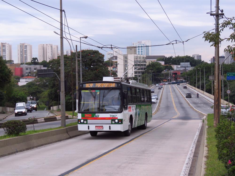 Система междугороднего скоростного троллейбуса в пригородах Сан-Паулу