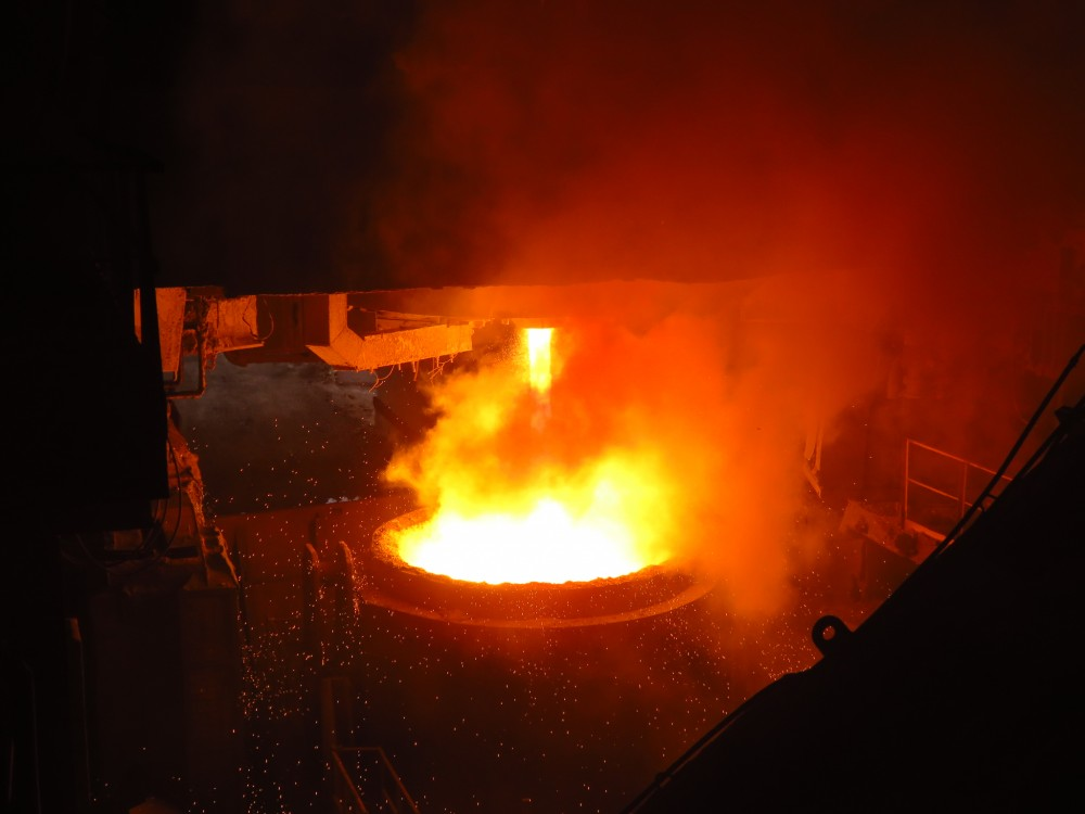 Величие и обаяние металлургической промышленности