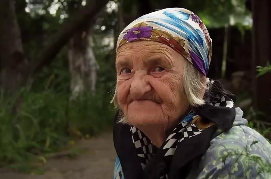 старушка тупо дает - 3