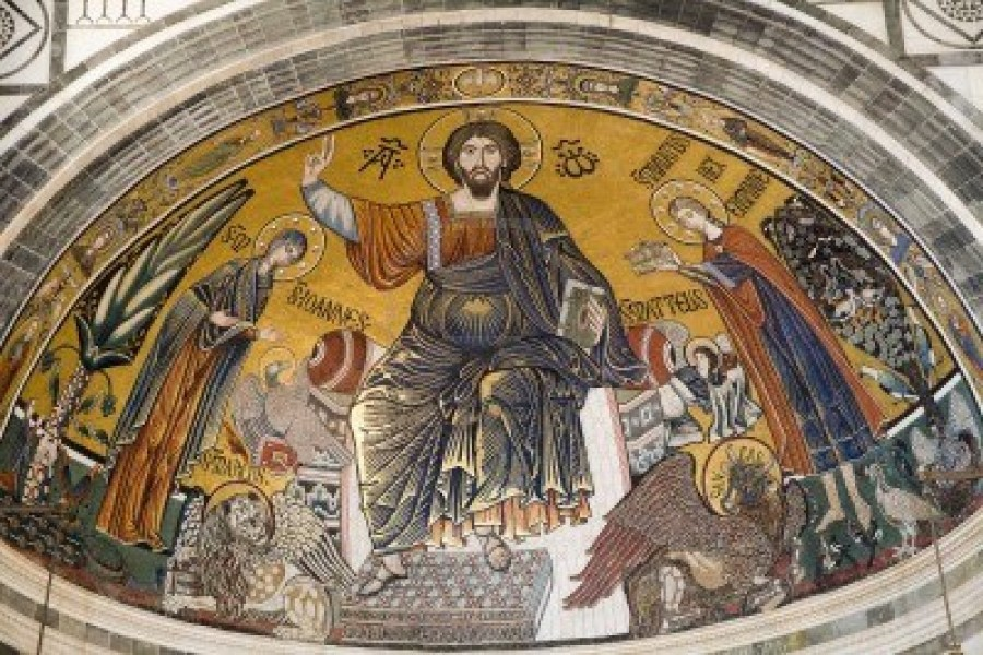 9697709-jesus-christ--pantokrator-from-florence-church--san-miniato-al-monte