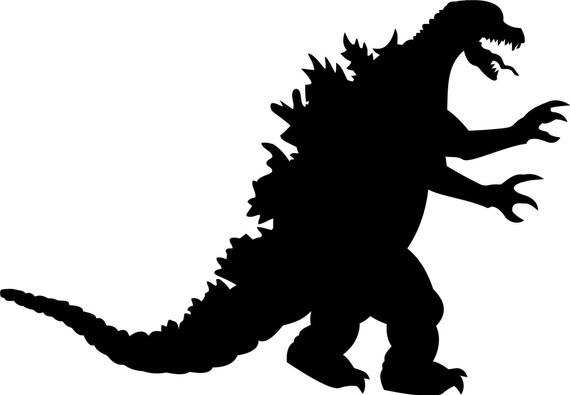 Godzilla Silhouette Vector - fedinvestonline