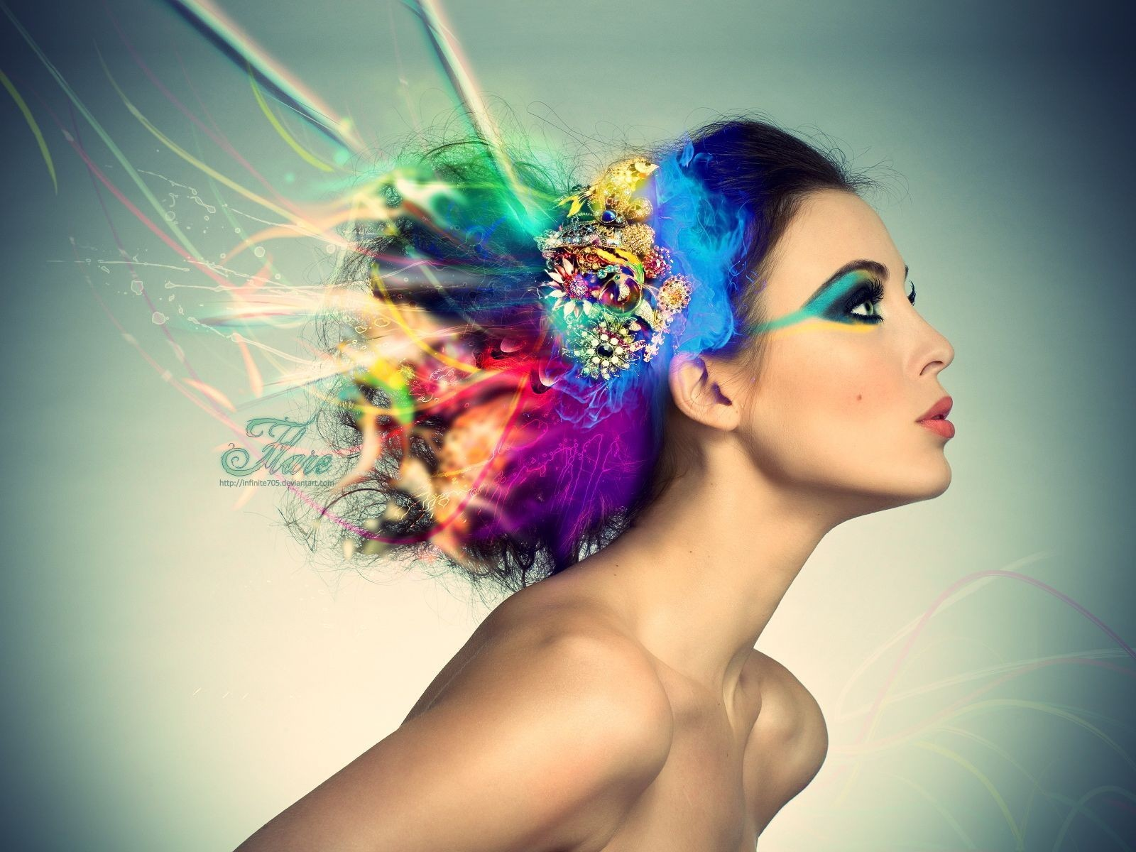 ws_Model_with_colorful_hair_1600x1200