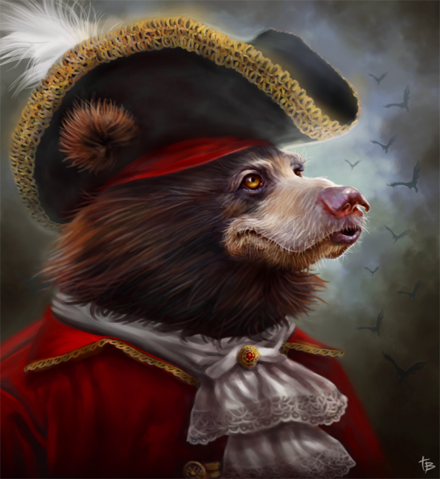 Frenchie_2d_fantasy_bear_portrait_picture_image_digital_art
