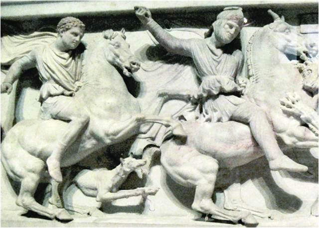 Alexander and Peritas