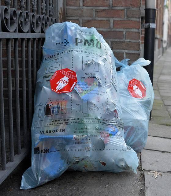 Переработка мусора в бельгии