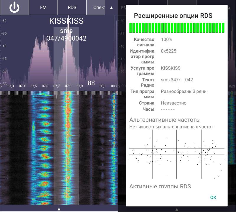 прием радиостанции из Италии