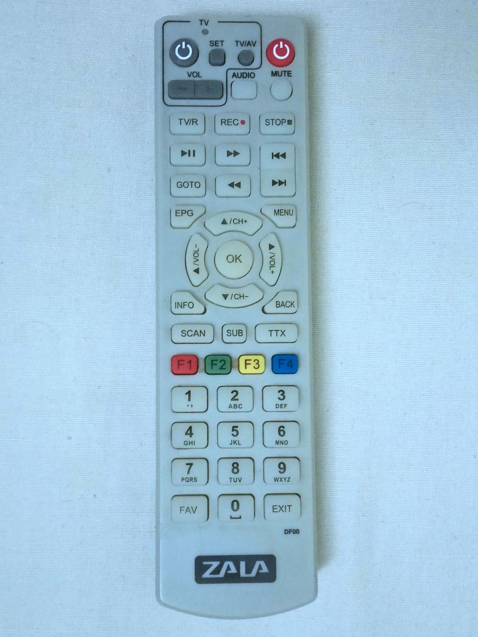 пульт тюнера Витязь DTR-824HD