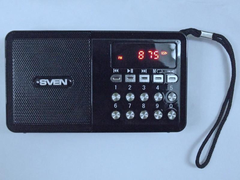 принимает радио