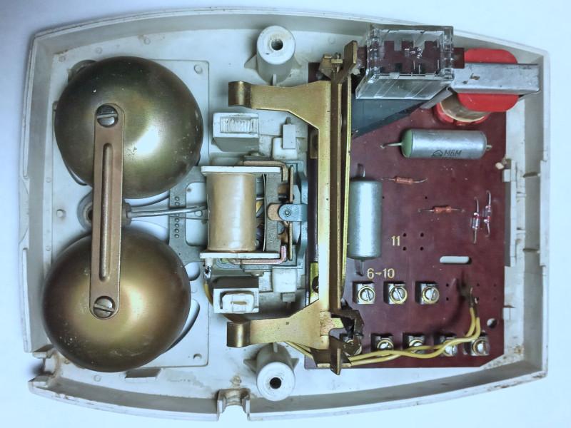 остатки советского телефона