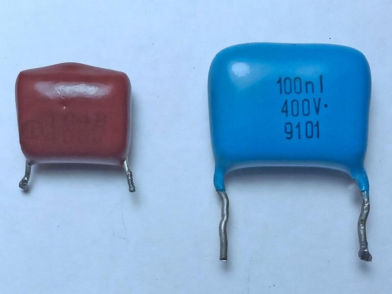 конденсаторы 0,1 мкФ 400В