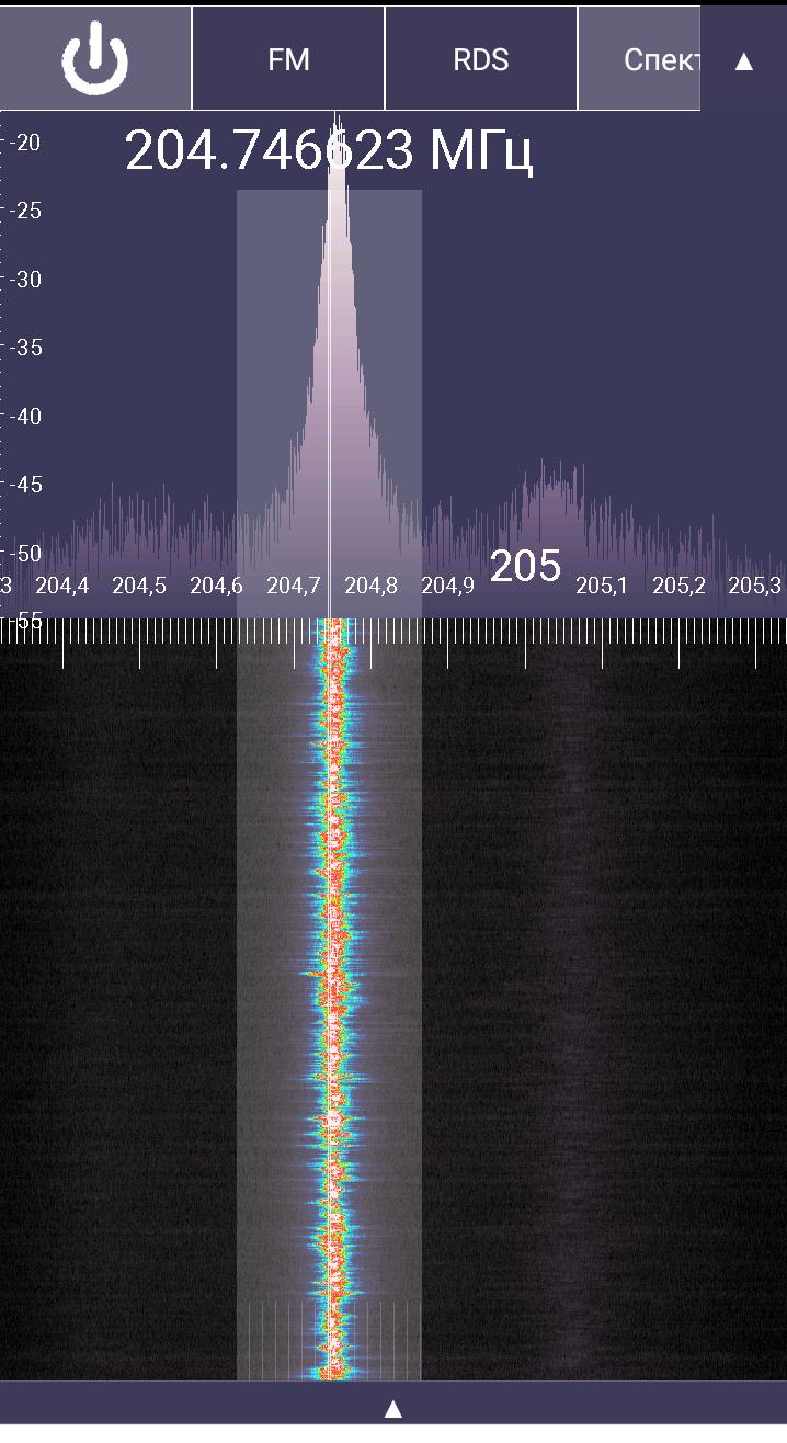 несущая звука на RTL-SDR