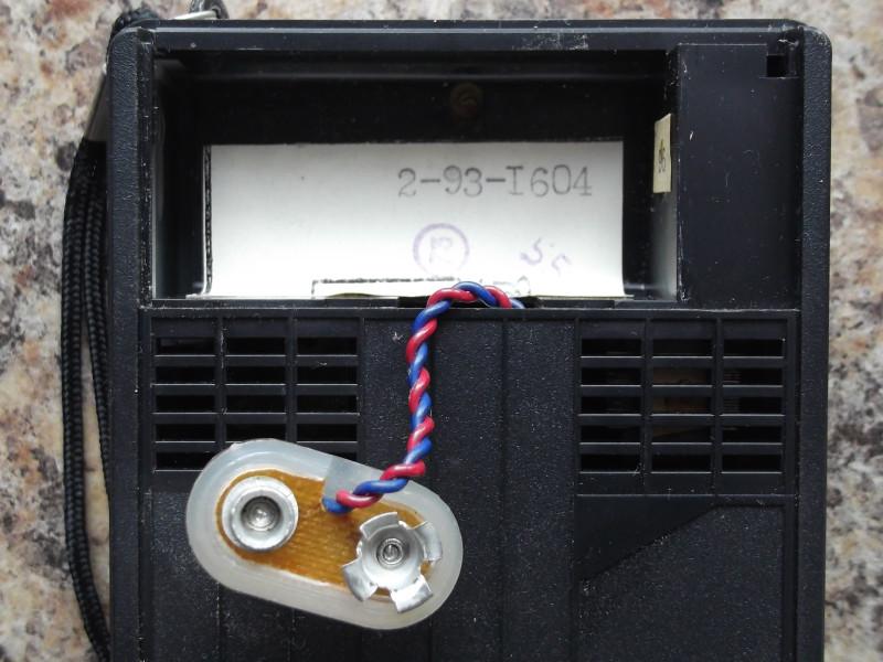 батарейный отсек и дата производства в нем наклеена