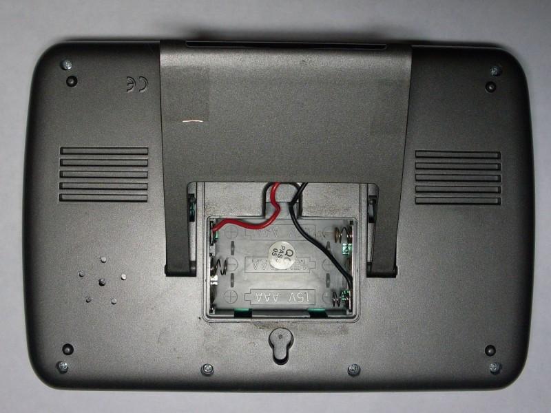 подключены провода от аккумулятора