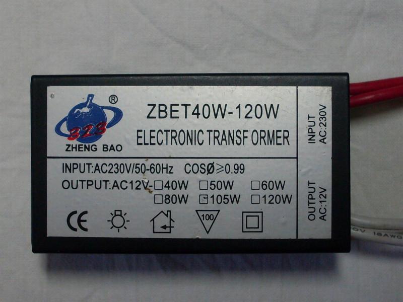 «электронный трансформатор» на 120 вт