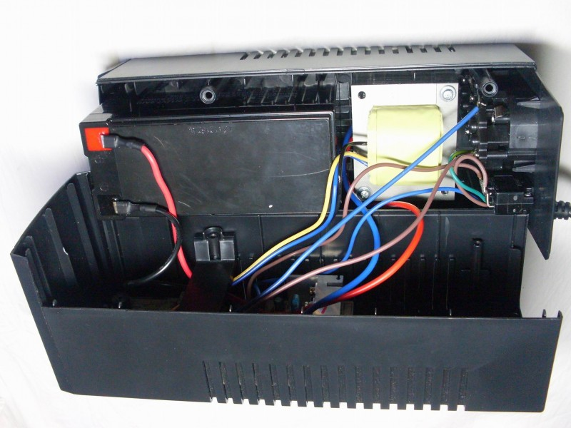 трансформатор и аккумулятор