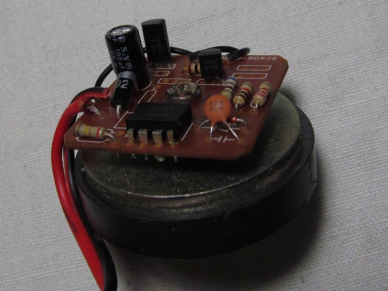 видна маркировки транзисторов