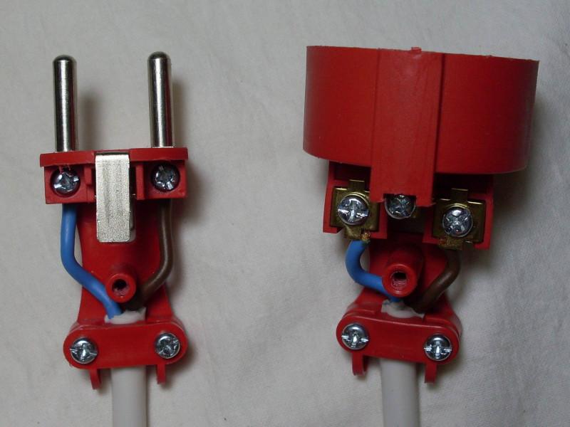подключенные провода