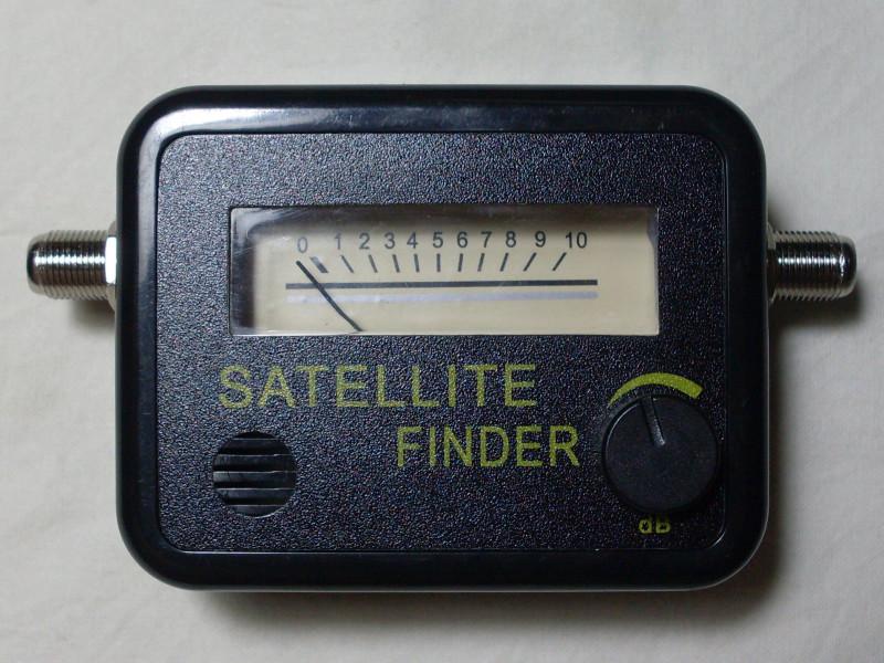 прибор для поиска сигнала со спутника