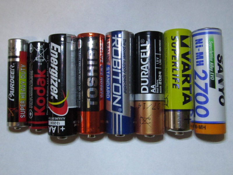 Проба батареек