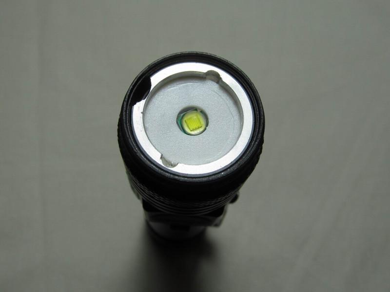 светодиодный кристалл без крышки с линзой